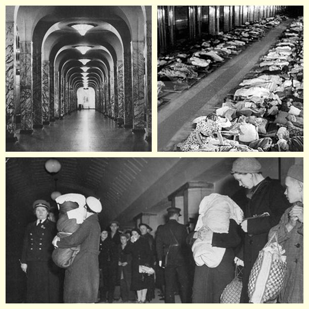 Метро в годы войны - бомбоубежище, концертный зал и библиотека.jpg
