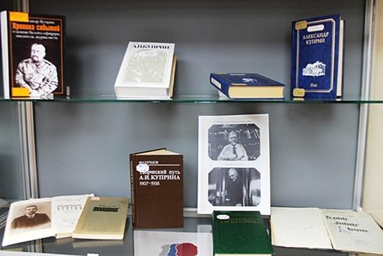 Книжно-иллюстративная выставка «Литературные портреты на фоне юбилея»550.jpg