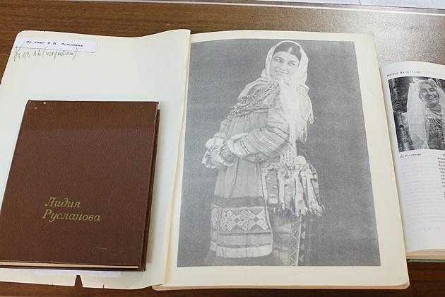 Книжная выставка Лидия Андреевна Русланова 630.JPG
